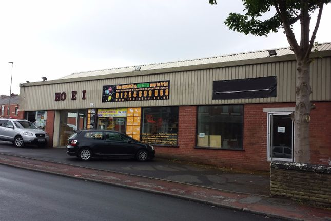Commercial property to let in East Park Road, Blackburn