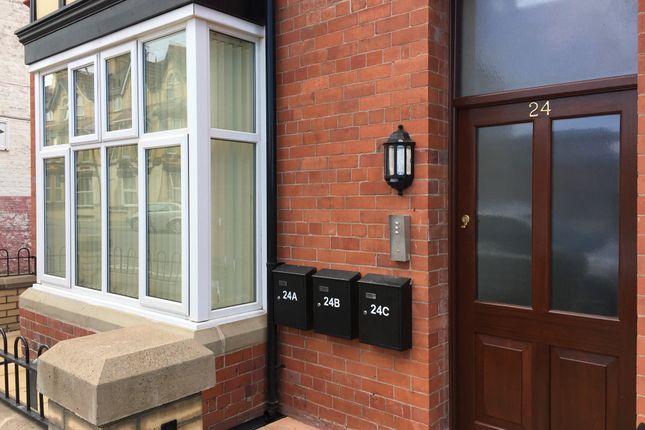 Thumbnail Flat to rent in John Street, Rhyl