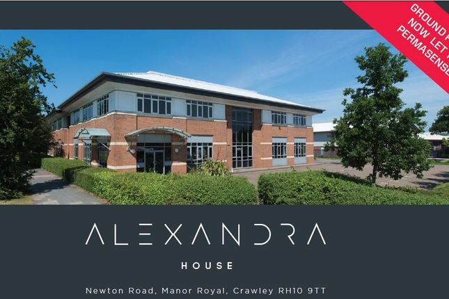 Thumbnail Office to let in Alexandra House, Newton Road, Crawley