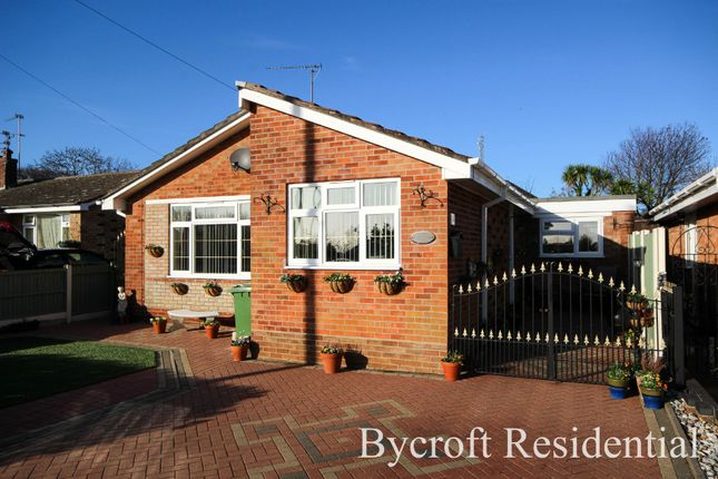 Thumbnail Detached bungalow for sale in St. Georges Drive, Caister-On-Sea, Great Yarmouth