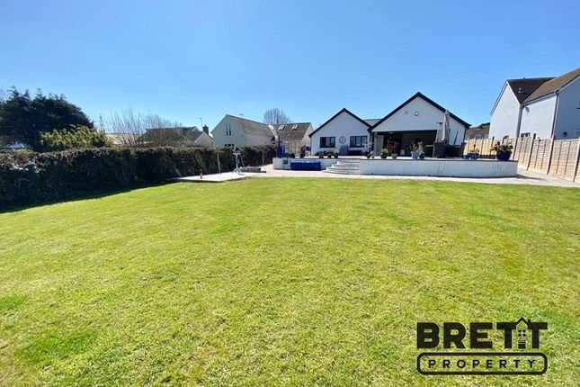 Thumbnail Detached bungalow for sale in Upper Lamphey Road, Pembroke, Pembrokeshire.