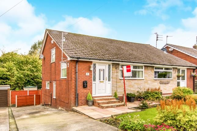 Thumbnail Semi-detached house for sale in Marle Avenue, Mossley, Manchester, Greater Manchester
