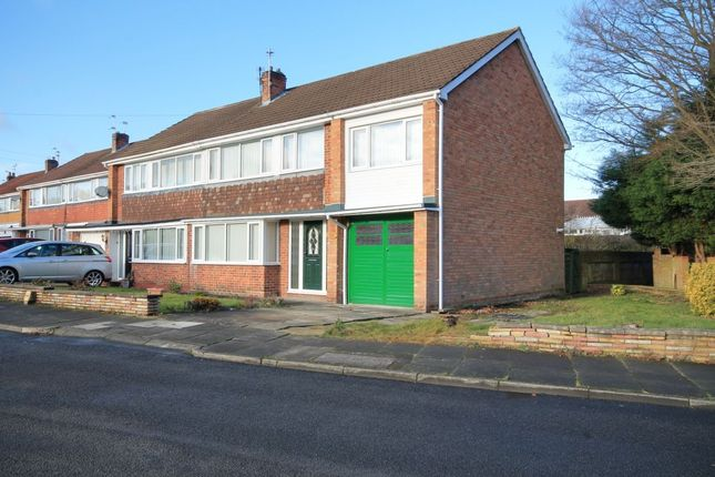 Thumbnail Semi-detached house for sale in Ullswater Road, Chester Le Street