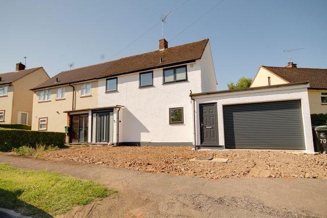 Thumbnail Semi-detached house for sale in Parkfields, Roydon