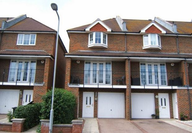Thumbnail End terrace house to rent in Lionel Road, Bexhill-On-Sea, East Sussex