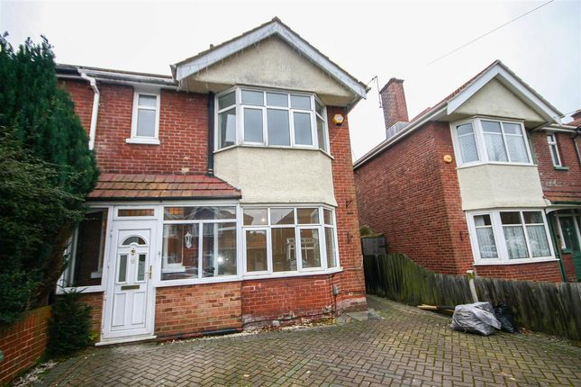 Thumbnail Semi-detached house to rent in Fawley Road, Southampton