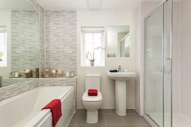 """Bathroom of """"Exeter"""" at Newport Road, St. Mellons, Cardiff CF3"""
