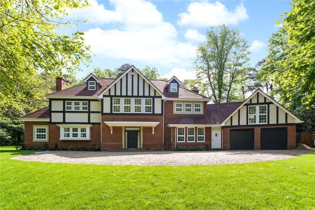 Thumbnail Detached house for sale in Chaucer Grove, Camberley, Surrey