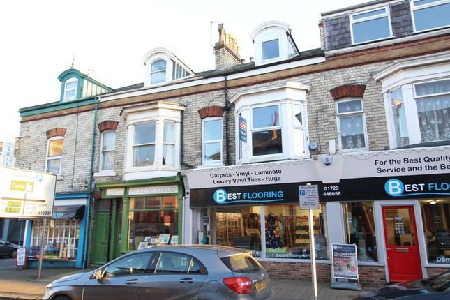 Thumbnail Flat to rent in Victoria Road, Scarborough