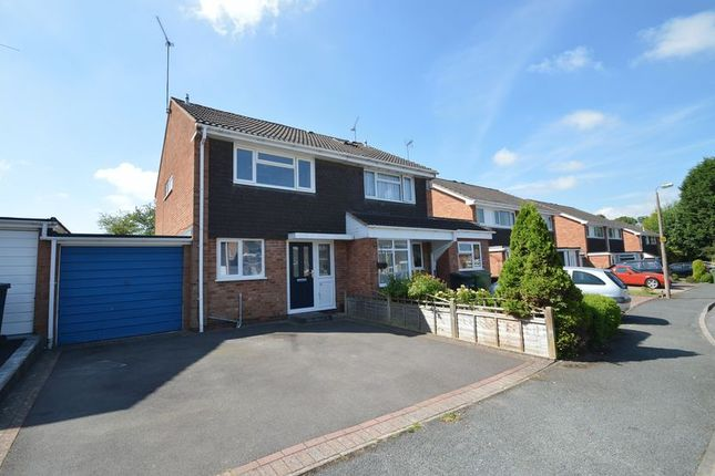 Thumbnail Semi-detached house for sale in Newent Close, Winyates Green, Redditch
