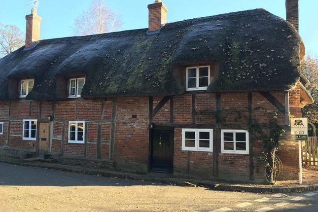 Thumbnail Cottage to rent in Hunton Down Lane, Hunton, Sutton Scotney, Winchester