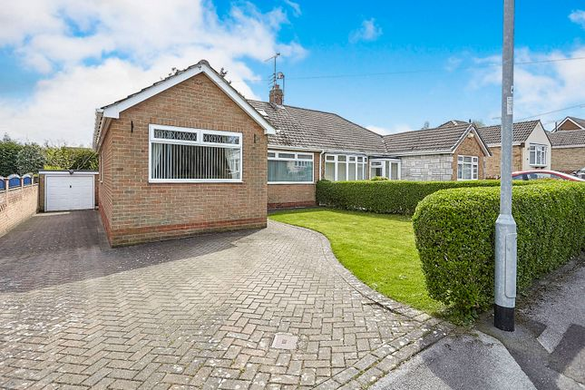 Thumbnail Semi-detached bungalow for sale in Grundale, Kirk Ella, Hull