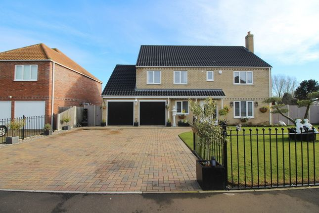 Thumbnail Detached house for sale in Martin De Rye Way, Caister-On-Sea, Great Yarmouth