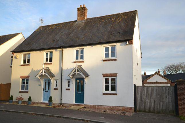 Thumbnail Semi-detached house for sale in Deverel Road, Charlton Down, Dorchester