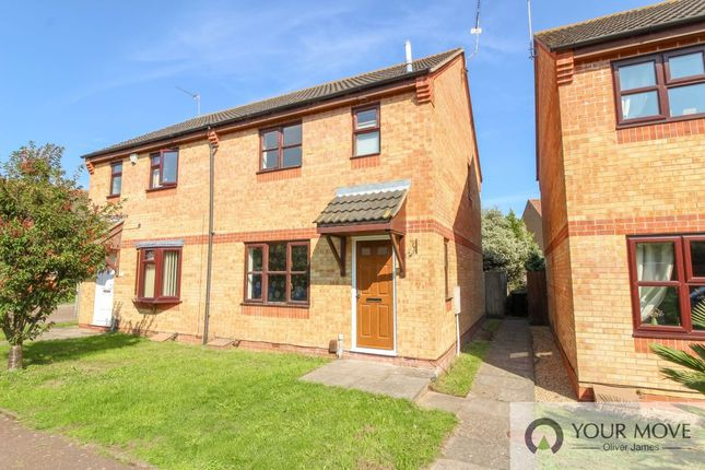 Thumbnail Semi-detached house to rent in Castle Green, Gorleston, Great Yarmouth