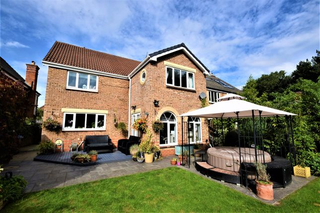 4 bed detached house for sale in O'neill Drive, Peterlee, County Durham SR8