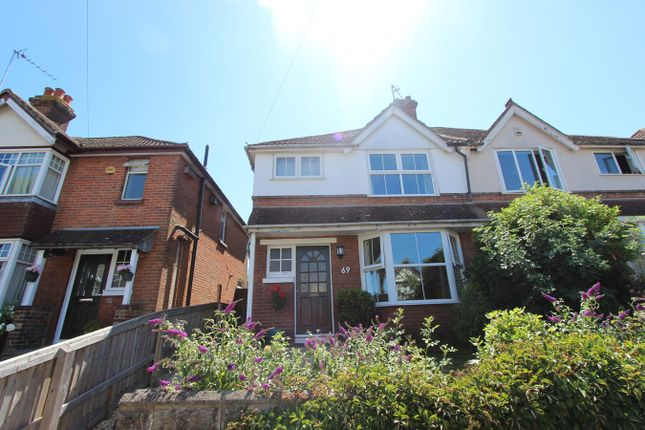 Thumbnail Semi-detached house for sale in Newlands Avenue, Southampton
