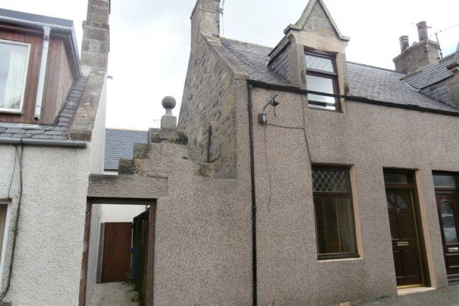 Thumbnail End terrace house for sale in Garden Lane, Buckie