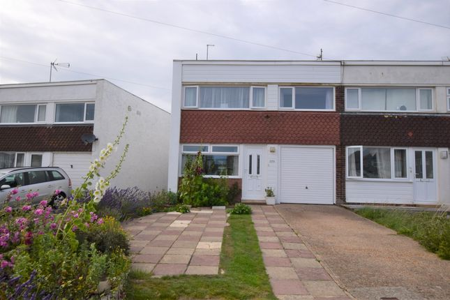Thumbnail End terrace house for sale in Coast Road, Pevensey Bay