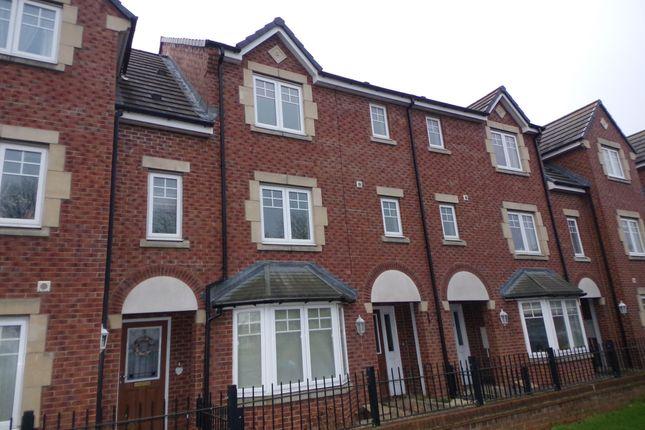 Thumbnail Town house to rent in Mowbray Court, Choppington