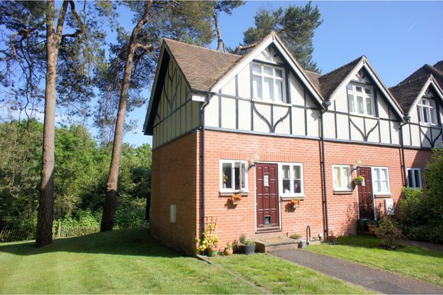Thumbnail End terrace house for sale in Deepcut Bridge Road, Camberley