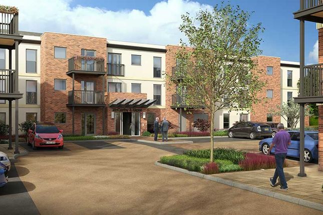 Thumbnail Flat for sale in The Moors, Thatcham