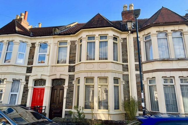 Thumbnail 2 bed terraced house for sale in Leonard Road, Bristol