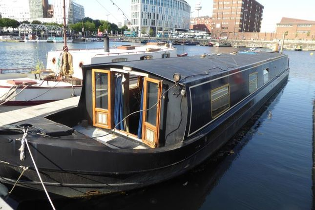 Thumbnail Houseboat for sale in Salthouse Dock, Royal Albert Dock, Liverpool, Merseyside