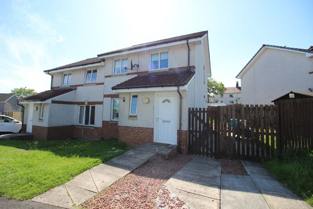 Thumbnail Semi-detached house for sale in Kilwinning Crescent, Ardrie, Lanarkshire ML67Dd