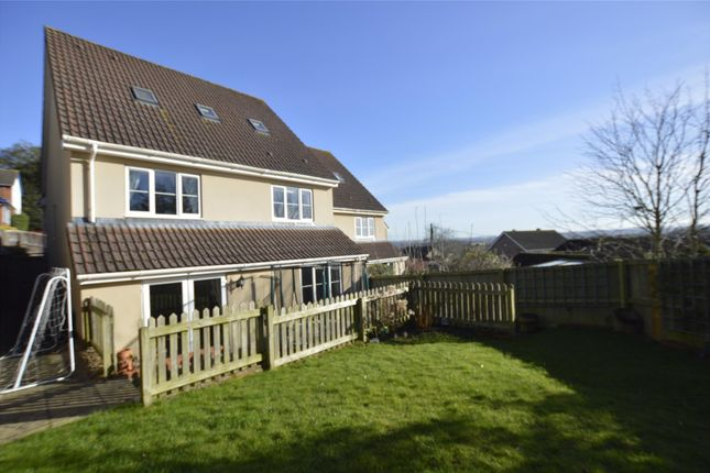 Thumbnail End terrace house for sale in 7A Quarry Lane, Winterbourne Down, Bristol