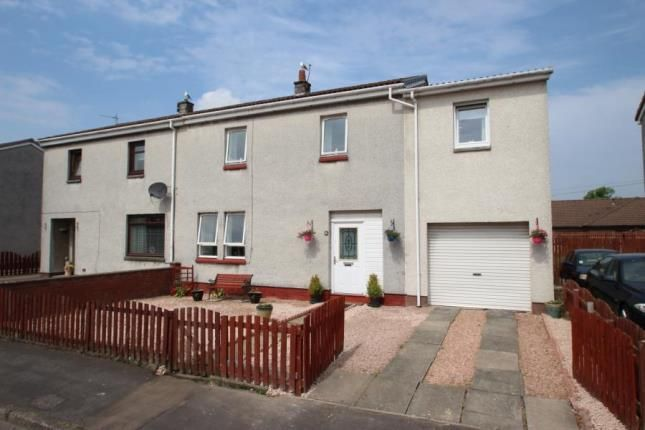 Exterior of Broomage Crescent, Larbert, Stirlingshire FK5