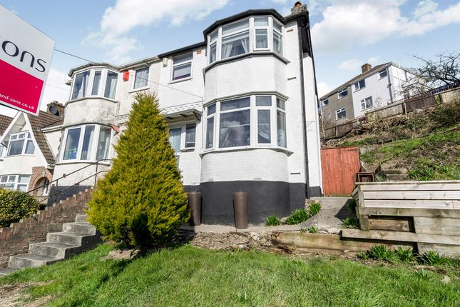 Thumbnail Semi-detached house for sale in Wolseley Road, St Budeaux, Plymouth