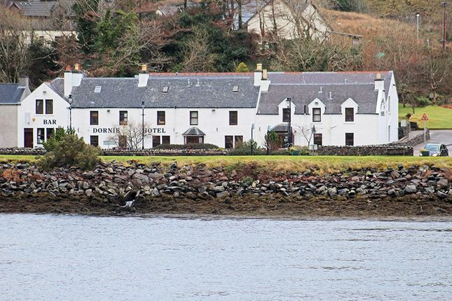 Thumbnail Hotel/guest house for sale in The Dornie Hotel, Dornie, By Kyle Of Lochalsh, Ross-Shire
