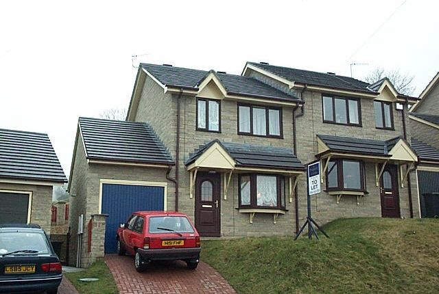 Thumbnail Semi-detached house to rent in Sandyacre, Mossley