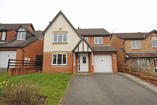 Thumbnail Detached house for sale in Lowry Close, Wellingborough