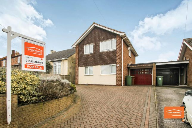 Thumbnail Link-detached house for sale in Barns Lane, Rushall, Walsall