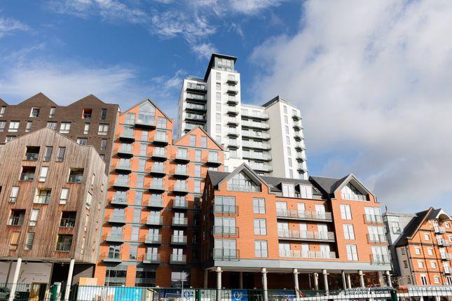 Thumbnail Flat for sale in Regatta Quay, Key Street, Ipswich