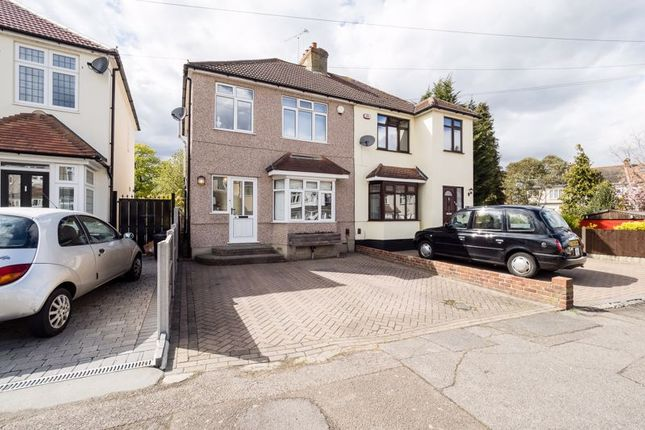 3 bed semi-detached house for sale in Kinfauns Avenue, Hornchurch RM11