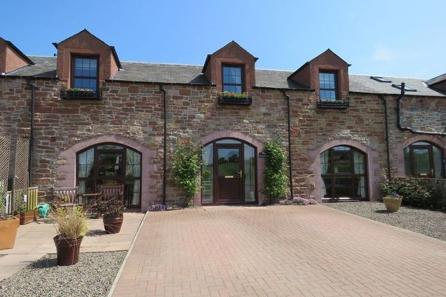 Thumbnail Terraced house for sale in The Hayloft, Charlesfield Steading, St. Boswells, Melrose, Scottish Borders