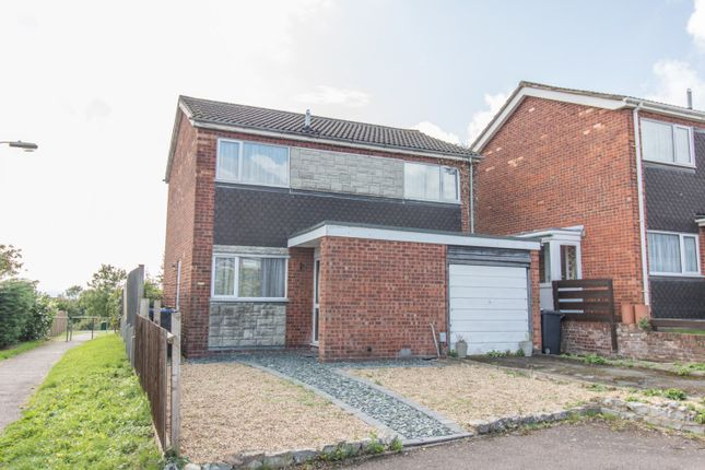 Thumbnail Detached house for sale in Rowse Close, Rugby