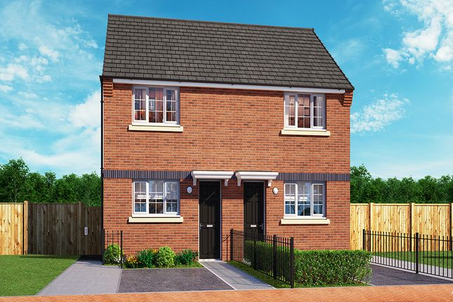 "Thumbnail Property for sale in ""The Haxby"" at Wellington Road, Northwood, Stoke-On-Trent"