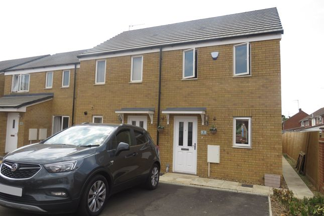 Thumbnail Semi-detached house for sale in Crawley Close, Kingsthorpe, Northampton