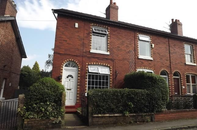 Thumbnail End terrace house for sale in Church Road, Handforth, Wilmslow, Cheshire