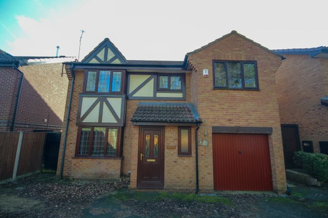 Thumbnail Detached house for sale in Summer Wood Court, Derby