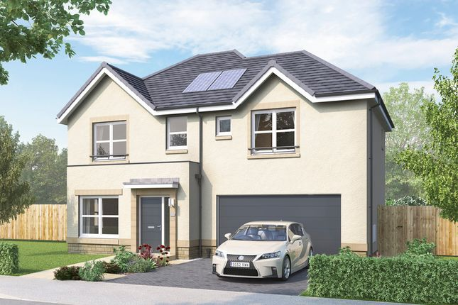 Thumbnail Detached house for sale in Mauricewood Road, Penicuik