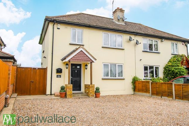 Thumbnail Semi-detached house for sale in Hamlet Hill, Roydon, Harlow