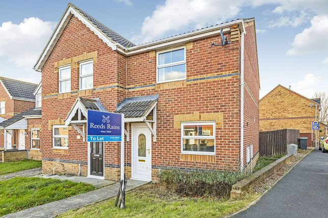 Thumbnail Semi-detached house to rent in Bluebell Close, Leadgate, Consett