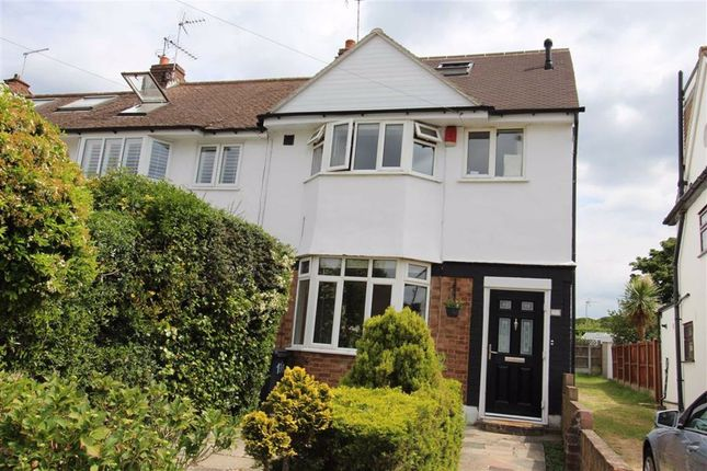Thumbnail End terrace house for sale in Drysdale Avenue, North Chingford, London