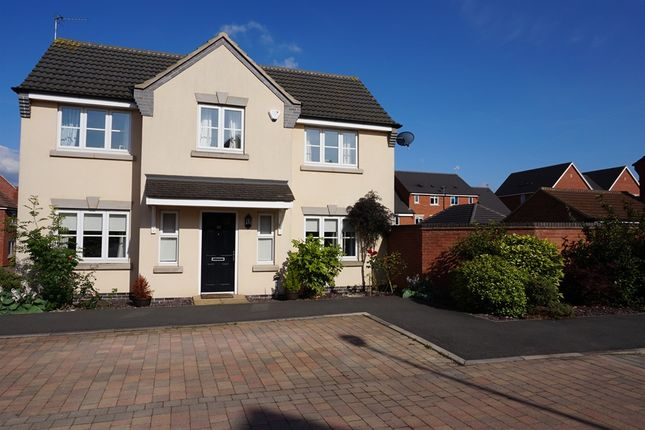 Thumbnail Detached house for sale in Magdalene Drive, Mickleover, Derby