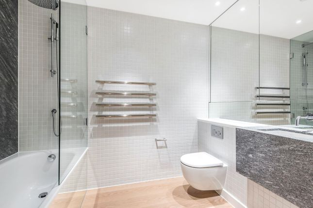 Bathroom of No.2, Upper Riverside, Cutter Lane, Greenwich Peninsula SE10